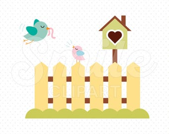 MOTHER BIRD Clipart Illustration for Commercial Use   0041