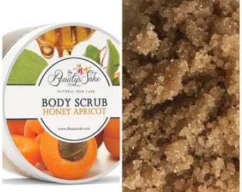 Honey Apricot Body Scrub - 12 oz