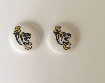 HBCU Button Earrings| Benedict tigers Earrings| Tigers