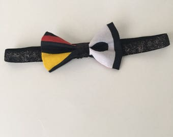 Ankara headband| Glitter Headband| Ankara Fabric| bow tie| Baby headband|stretch headband
