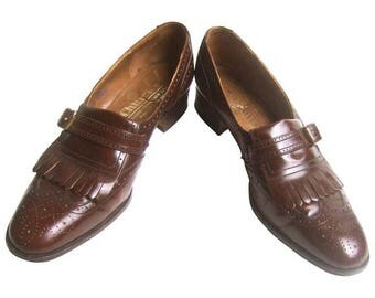 Church's London Classic Men's Brown Leather Brogues. UK size 9 narrow/US 9 1/2