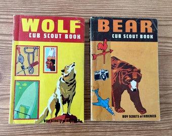 Vintage Cub Scout Books