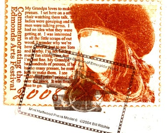 Vladimir with press stamp