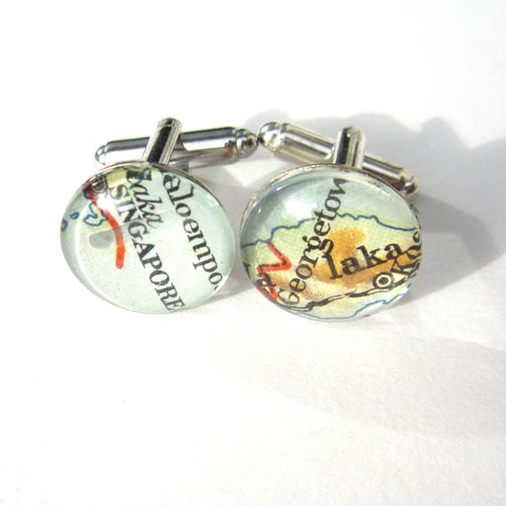 Map Cufflinks - various