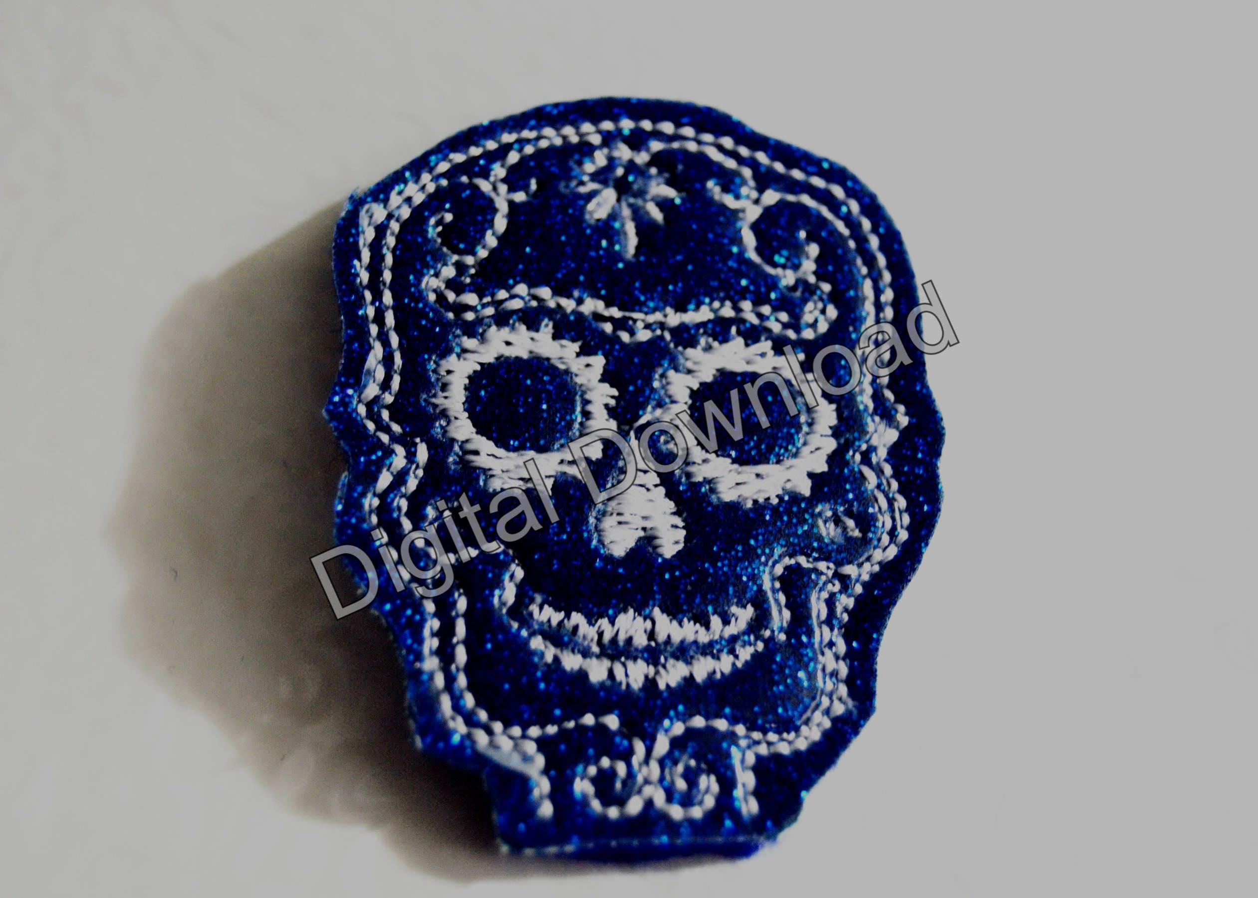 Sugar Skull Pencil Toppers from BrainstormEmbroidery on ...