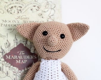 Dobby the House Elf // Harry Potter // Harry Potter Gift // Nursery Theme // Harry Potter Baby // Crochet Dobby // Dobby Doll // Handmade