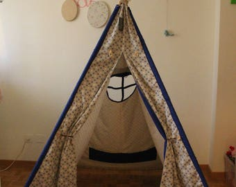 Indian teepee-kids play tent