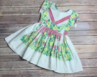 Girls Size 4T Vintage Dress