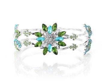 Daisy Butterfly Garden Bracelet