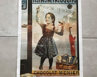Vintage French Poster for chocolate MENIER 17011811
