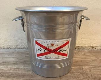 Vintage French Champagne French Ice Bucket Cooler France CASTELLANE 26011810