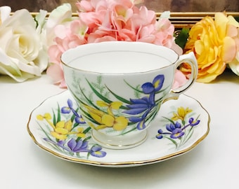 Royal Vale teacup and saucer.