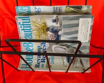 Mid Century Magazine Rack