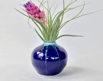 Blue Bud Vase Mini