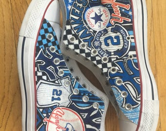Custom New York Yankees Converse