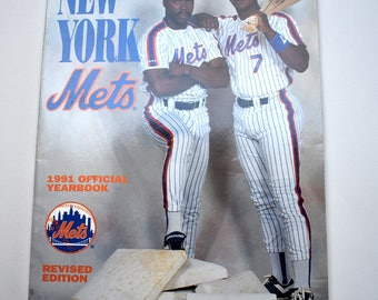 NY METS 1991 Official Yearbook, Revised Edition