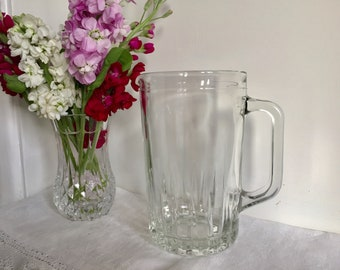 Vintage lemonade / juice pitcher / jug.
