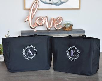 Bridesmaid Bag, Bridesmaid Tote bag, personalized tote bag, bridesmaid gift, bridal party gift, wedding gift  bag, personalized tote bag