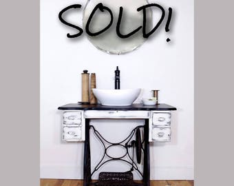 SOLD*** Bathroom Vanity ***SOLD