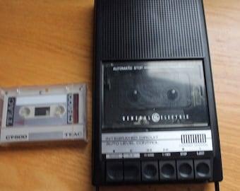 Ge Cassette Player Etsy