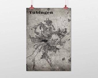 Tübingen - A4 / A3 - print - OldSchool