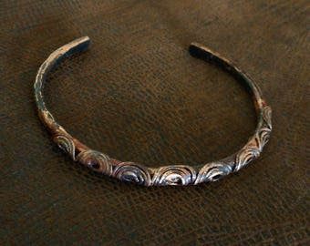 Copper / wire bracelet