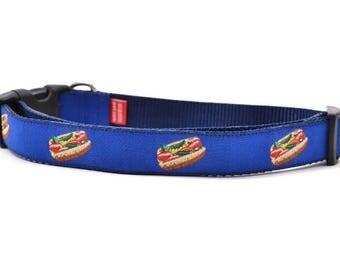 Chicago Style Hot Dog - Dog Collar - Large