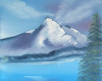 Lake by Mountain - a