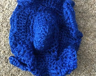 Crocheted hat for baby