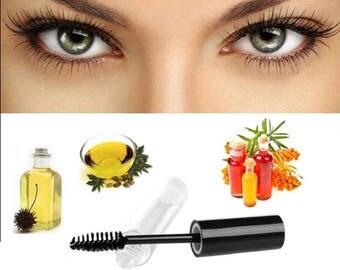 Organic Castor & Sea Buckthorn Oil Eyelash/Eyebrow Growth Serum 10ml.