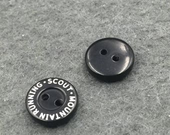 Custom black button, custom black plastic buttons, black sewing buttons