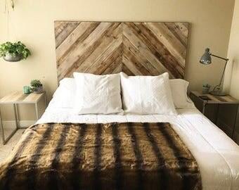 rustic headboard king size headboard wood headboard real wood headboard custom wood