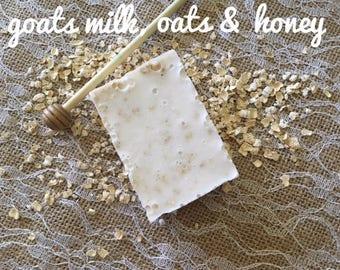 Goats Milk Honey & Oatmeal Soap