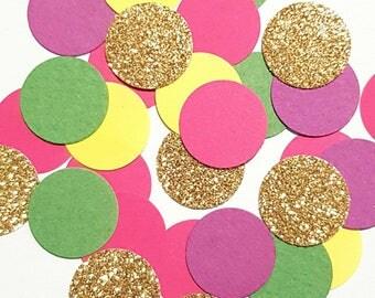 Carnival confetti, clown confetti, bright confetti, rainbow confetti for kids party, rainbow party,