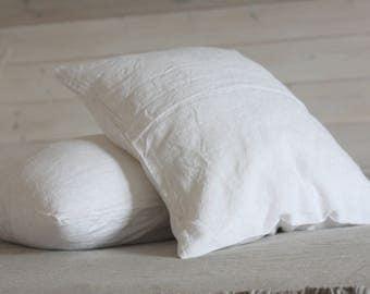 Linen Pillowcase, stonewashed linen, softened linen bedding, All sizes, pillow sham, pillow slip, different colors