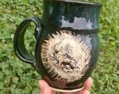 Regal Lion Stein in Deep ...