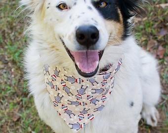 Dog Bandana-Large Dog Bandana-Small Dog Bandana-Puppy Bandana-Cat Bandana-Sock Monkey Dog Bandana-Custom Dog Bandana-Cute Dog Bandana-Monkey