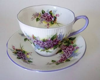 Royal Albert Blossom Time Series Lilac