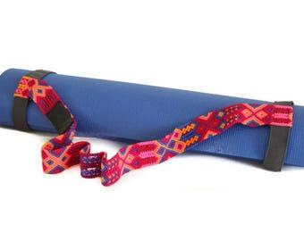Yoga Mat Strap - Coral