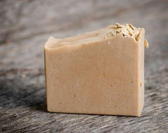 Oatmeal Milk & Honey Soap, Goats Milk Soap, Shea Butter Soap, Handmade Soap, Cocoa Butter Soap