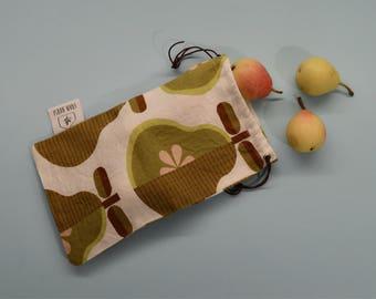 Eco bag design-eco friendly reusable bag pears