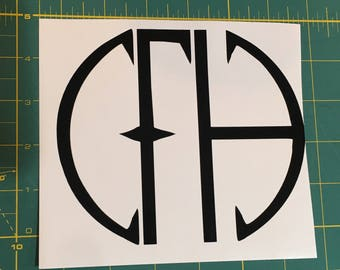 Pantera Cowboys From Hell Decal- Black