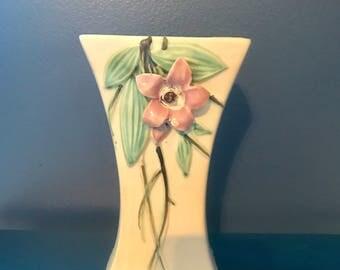 McCoy 'blossom time' flower vase