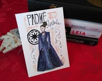 Star Wars Print-Padme Amidala-Ladies of Star Wars