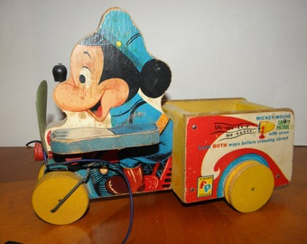 Mickey Mouse Fisher-Price Pull Toy