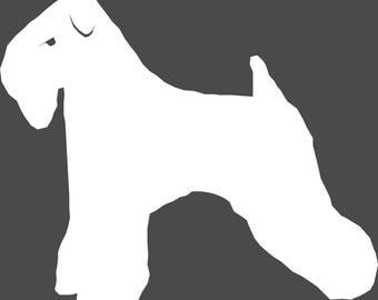 Wheaten Terrier Window Decal