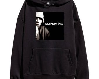 Eminem Stan Hoodie Classic Hip Hop Rap Vintage Style Sweatshirt Revival Slim Shady Records Aftermath Entertainment Detroit Music New
