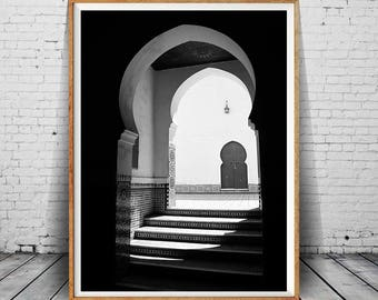 Moroccan Architecture Print, Moroccan Photography, Travel Photography, Morocco Art Print, Morocco Arch, Morocco Art, Morocco Photo, Wall Art