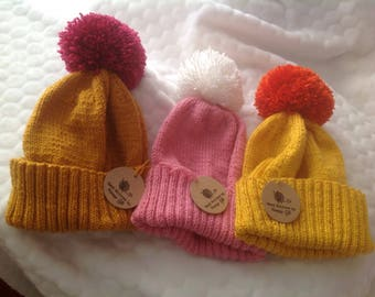 Bobble hat Teen to Adult