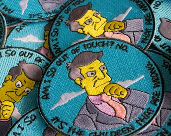 The Simpsons - Doubtful Skinner Patch